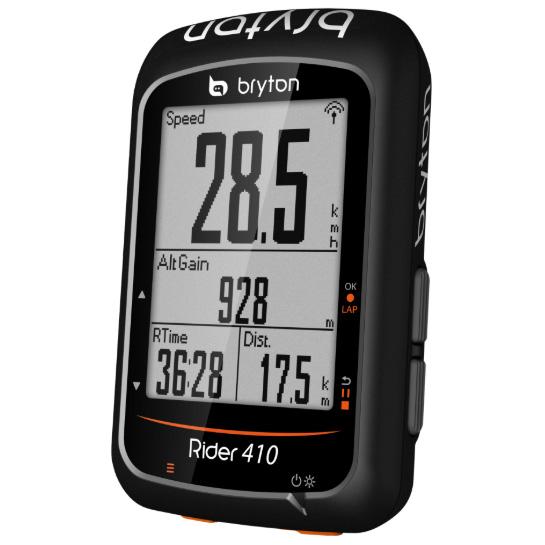 送料無料 BRYTON(ブライトン) GPSサイクルコンピューター Rider410E