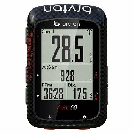 送料無料 BRYTON(ブライトン) GPSサイクルコンピューター Aero60E 本体セット