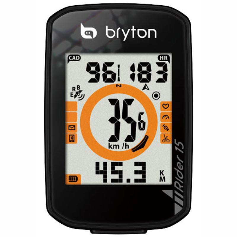 【キャッシュレス5%還元対象店】送料無料 BRYTON(ブライトン) GPSサイクルコンピューター Rider15E