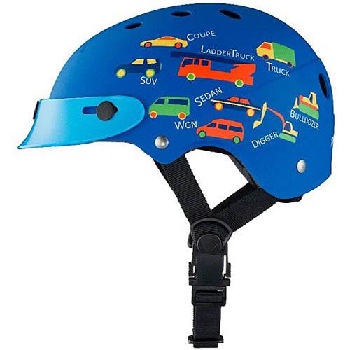 普利司通(普利司通)古龍香水小孩安全帽CHCH4652藍色