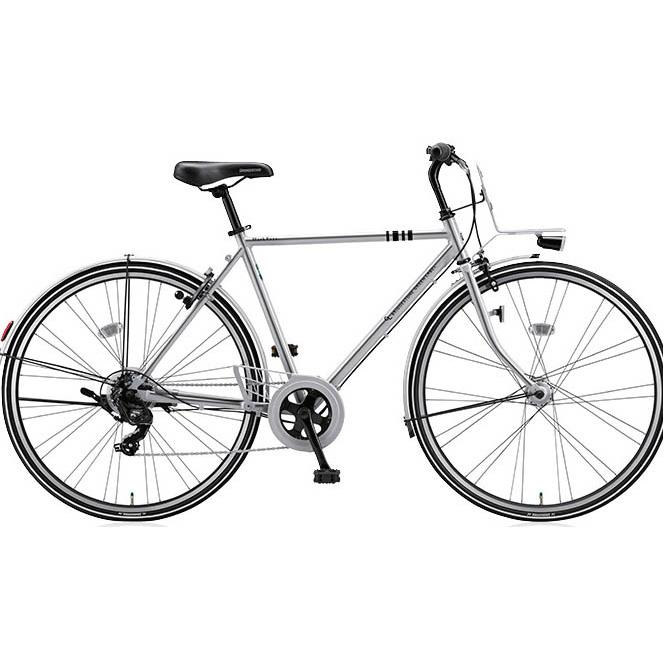 ブリヂストングリーンレーベル クロスバイク マークローザ(MarkRosa) 7H ホリゾンタル MRH77T M.XHミラーシルバー 【2017年モデル】【完全組立済自転車】