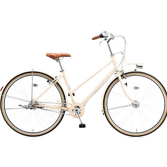 防犯登録付き ブリヂストングリーンレーベル シティサイクル マークローザ(MarkRosa) 3S スタッガード MRS73T E.Xミルクティーベージュ【完全組立済自転車】