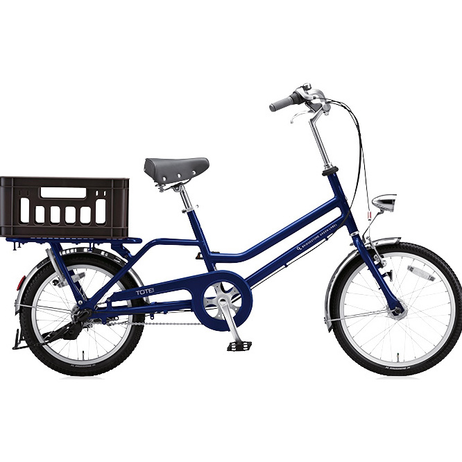 ブリヂストン シティサイクル トートボックス(TOTEBOX) SMALL TB03T E.Xノーブルネイビー 【2017年モデル】【完全組立済自転車】