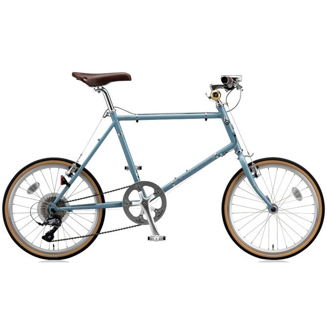 ブリヂストン ミニベロ クエロ(CHERO) 20F CHF245/CHF251 E.XHブルーグレー 【2018年モデル】【完全組立済自転車】