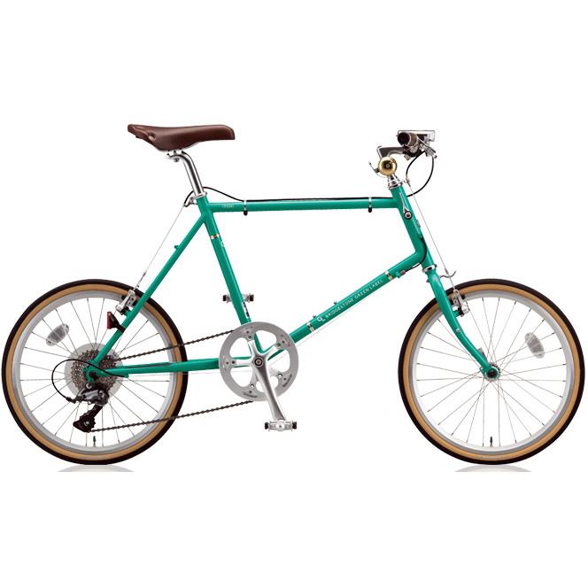 ブリヂストン ミニベロ クエロ(CHERO) 20F CHF245/CHF251 E.Xコバルトグリーン 【2018年モデル】【完全組立済自転車】