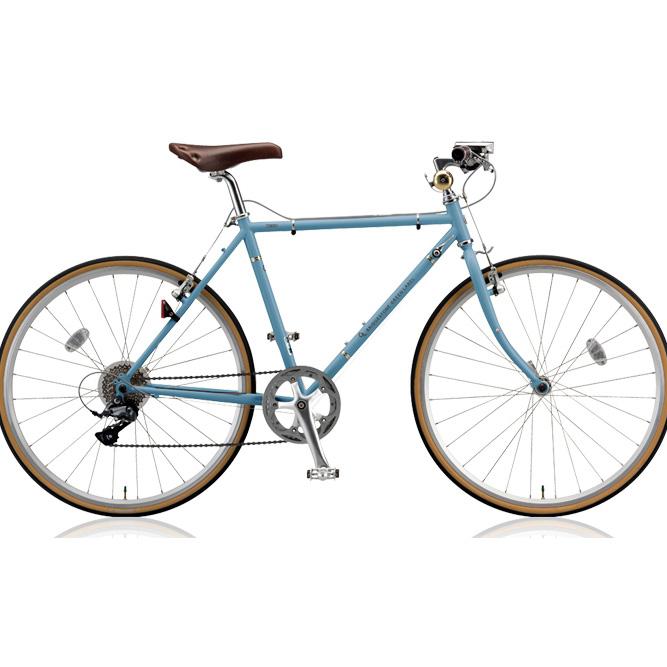 ブリヂストン クロスバイク クエロ(CHERO) 650F CHF648 E.XHブルーグレー 【2018年モデル】【完全組立済自転車】