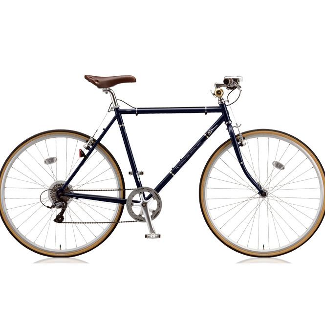 【防犯登録サービス中】ブリヂストン クロスバイク クエロ(CHERO) 700F CHF751/CHF754 E.Xモダンブルー 【2018年モデル】【完全組立済自転車】