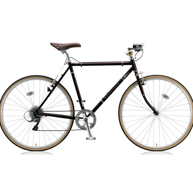 ブリヂストン(BRIDGESTONE)クロスバイククエロ(CHERO)700FCHF751/CHF754E.Xビターブラウン【2018年モデル】【完全組立済自転車】