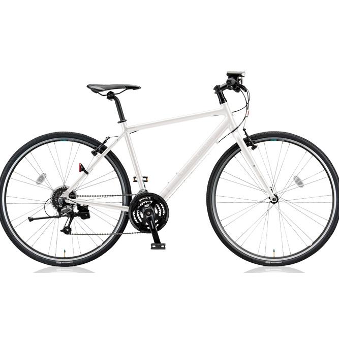 ブリヂストングリーンレーベル クロスバイク CYLVA(シルヴァ) F24 VF2439/VF2444/VF2449/VF2454 マットグロスホワイト 【2018年モデル】【完全組立済自転車】