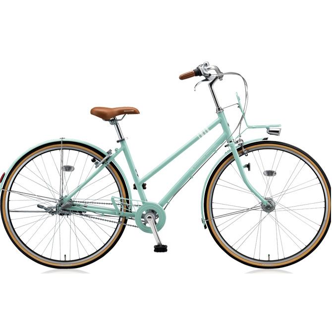 【防犯登録サービス中】ブリヂストン シティサイクル マークローザ 3S MR73ST E.Xグレイッシュミント 【2018年モデル】【完全組立済自転車】
