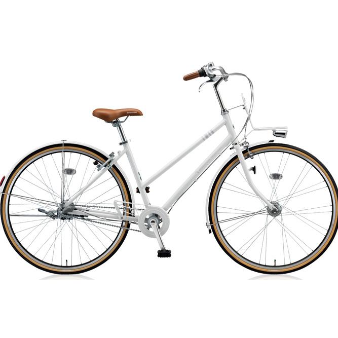 ブリヂストン シティサイクル マークローザ 3S MR73ST P.Xスノーホワイト 【2018年モデル】【完全組立済自転車】