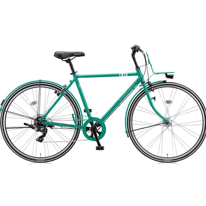 ブリヂストン クロスバイク マークローザ 7H MR77HT E.Xコバルトグリーン 【2018年モデル】【完全組立済自転車】