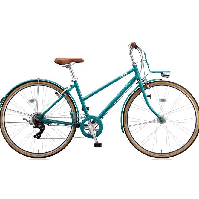 ブリヂストン クロスバイク マークローザ 7S MR77ST E.Xコバルトグリーン 27インチ 【2018年モデル】【完全組立済自転車】
