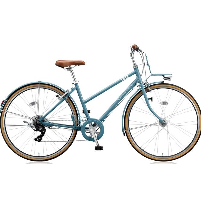 即納可能 ブリヂストン クロスバイク マークローザ 7S MR77ST T.Xグリーンアッシュ 27インチ 【2018年モデル】【完全組立済自転車】