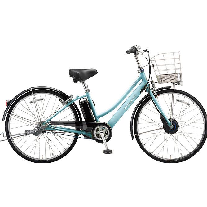 ブリヂストン アルベルト e L型 AL7B48 T.スノーアクア 27インチ 電動自転車【2018年モデル】【完全組立済自転車】