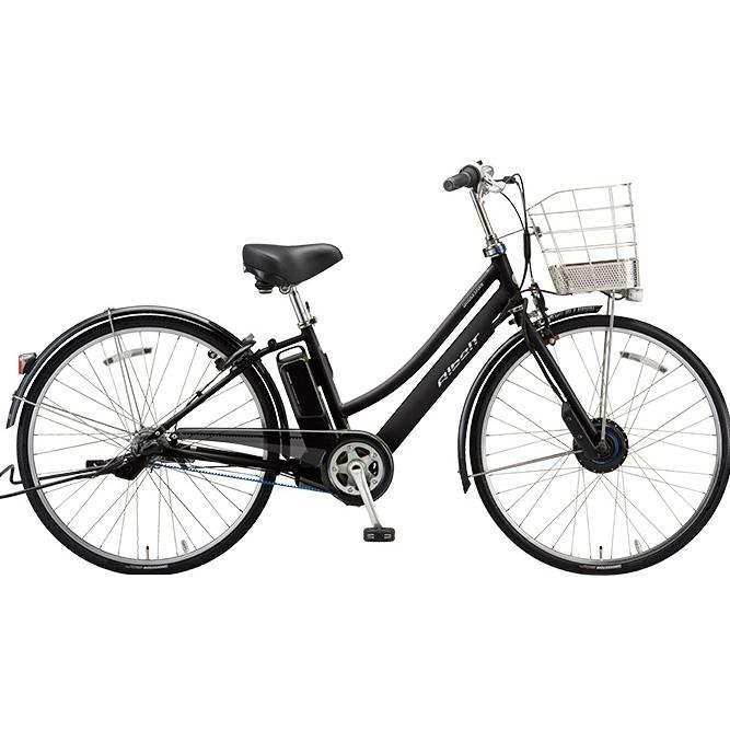 【防犯登録サービス中】ブリヂストン アルベルト e L型 AL7B48 T.アンバーブラック 27インチ 電動自転車【2018年モデル】【完全組立済自転車】