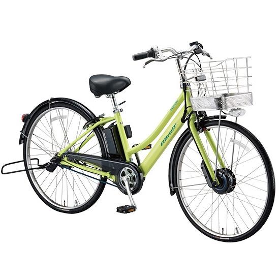 ブリヂストン アルベルト e L型 AL7B48 T.ネオンライム 27インチ 電動自転車【2018年モデル】【完全組立済自転車】