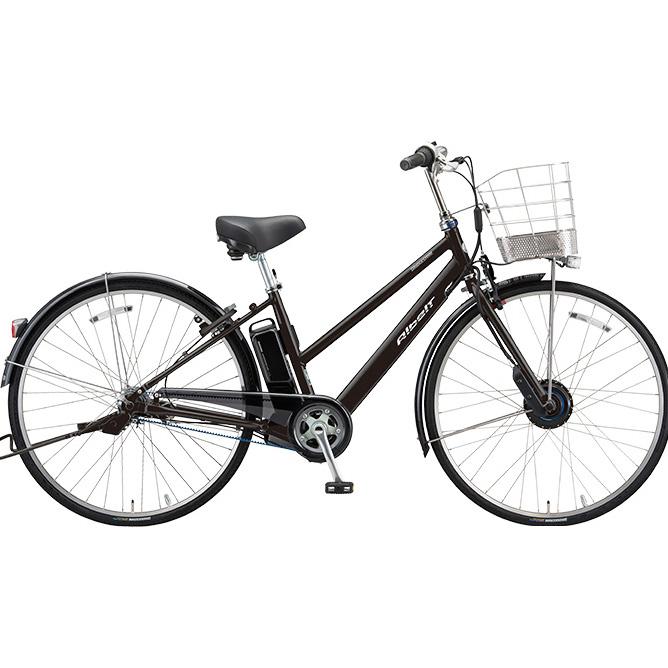 ブリヂストン アルベルト e S型 AS7B48 T.アンバーブラック 27インチ 電動自転車【2018年モデル】【完全組立済自転車】