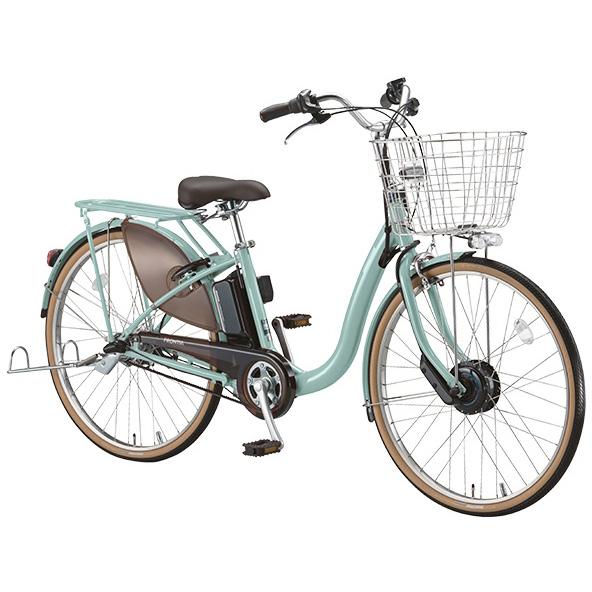 【送料無料】 ブリヂストン フロンティアDX F4DB38 E.Xグレッシュミント 24インチ 電動自転車【2018年モデル】【完全組立済自転車】 【北海道、九州、沖縄、離島は送料別】
