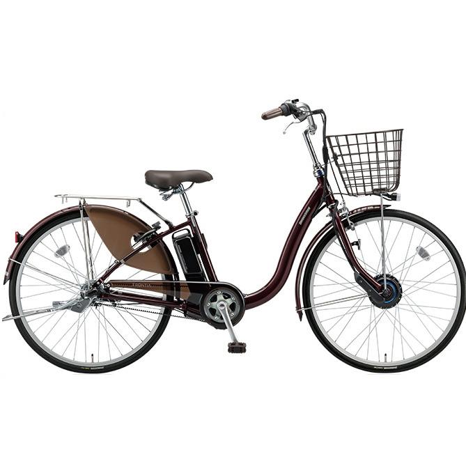 【送料無料】 ブリヂストン フロンティア F6AB28 F.Xカラメルブラウン 26インチ 電動自転車【2018年モデル】【完全組立済自転車】 【北海道、九州、沖縄、離島は送料別】
