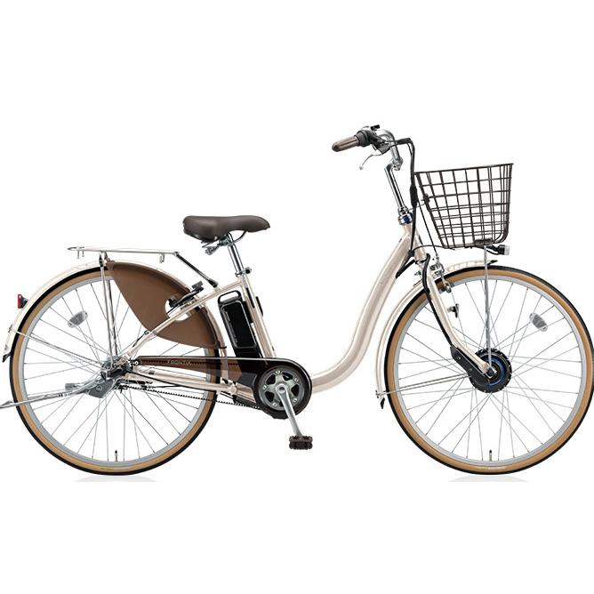 【送料無料】 ブリヂストン フロンティア F6AB28 E.Xクリームアイボリー 26インチ 電動自転車【2018年モデル】【完全組立済自転車】 【北海道、九州、沖縄、離島は送料別】