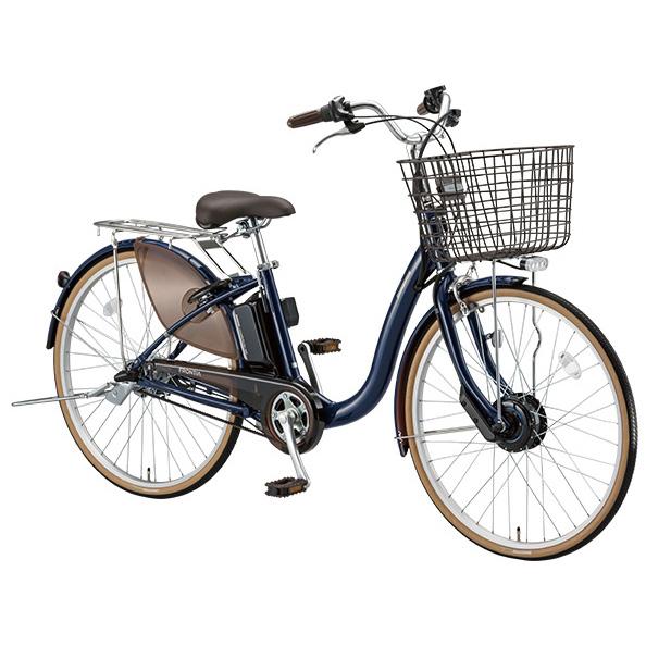 【送料無料】 ブリヂストン フロンティア F6AB28 E.Xノーブルネイビー 26インチ 電動自転車【2018年モデル】【完全組立済自転車】 【北海道、九州、沖縄、離島は送料別】