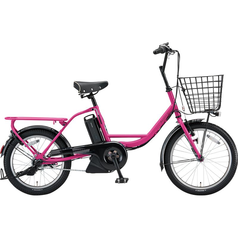 ブリヂストン 電動自転車 アシスタファインミニ A0BC18 E.Xチェリーピンク 【2019年モデル】【完全組立済自転車】