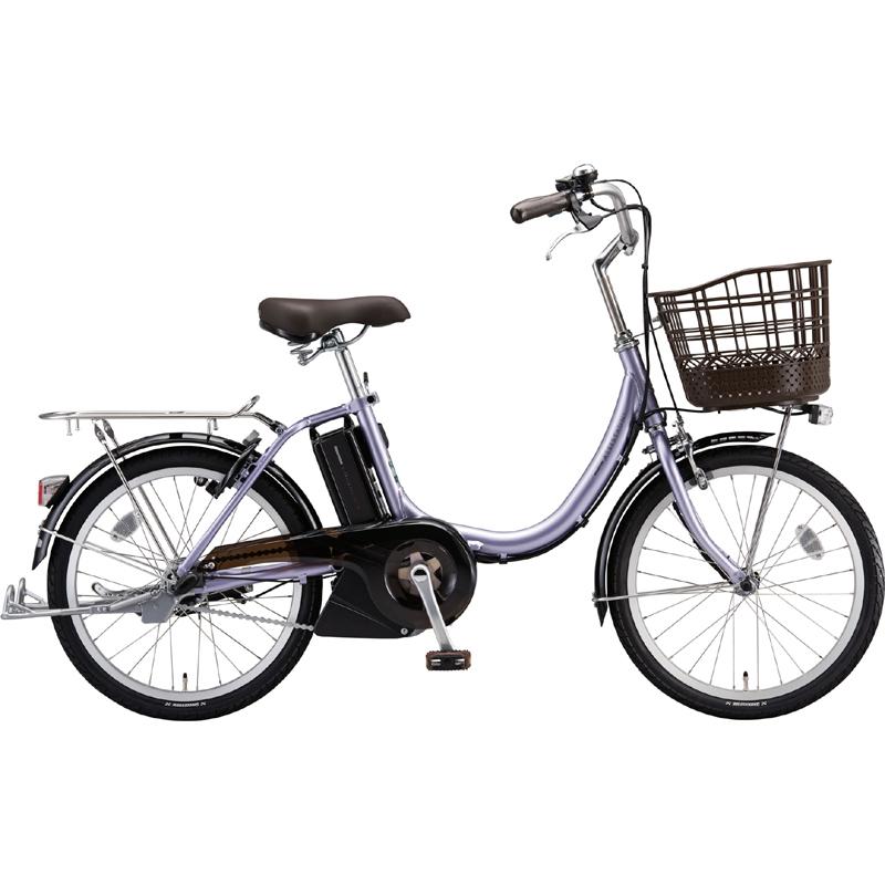 ブリヂストン 電動自転車 アシスタ ユニ プレミア A2PC38 MXフラツシユPPL 【2019年モデル】【完全組立済自転車】