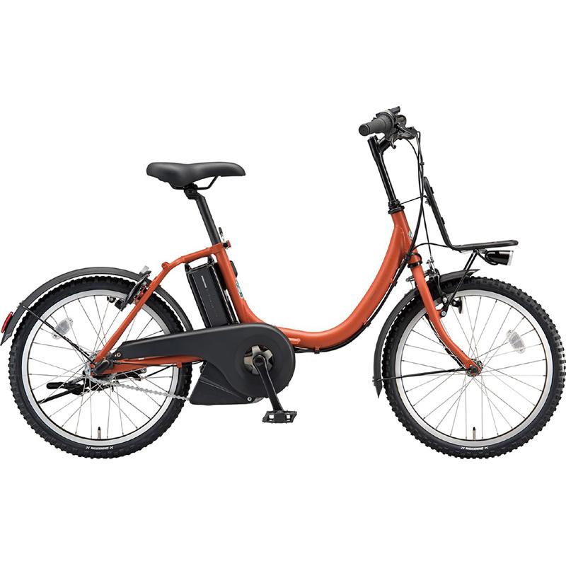 【防犯登録サービス中】ブリヂストン 電動自転車 アシスタ ユニ A2UC38 TXAMBオレンジ 【2019年モデル】【完全組立済自転車】