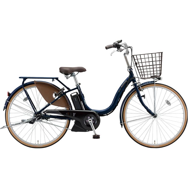 【防犯登録サービス中】ブリヂストン 電動自転車 アシスタファイン A4FC19 E.Xモダンブルー 【2019年モデル】【完全組立済自転車】