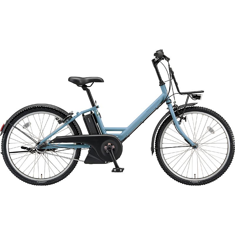 ブリヂストン 電動自転車 アシスタ ユニ A4UC38 TXマツトブル-G 【2019年モデル】【完全組立済自転車】