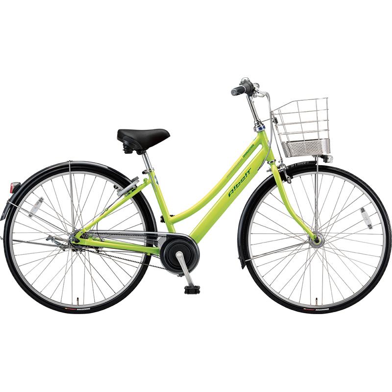 【防犯登録サービス中】ブリヂストン シティサイクル自転車 アルベルト A65LB T.ネオンライム 【2019年モデル】【完全組立済自転車】