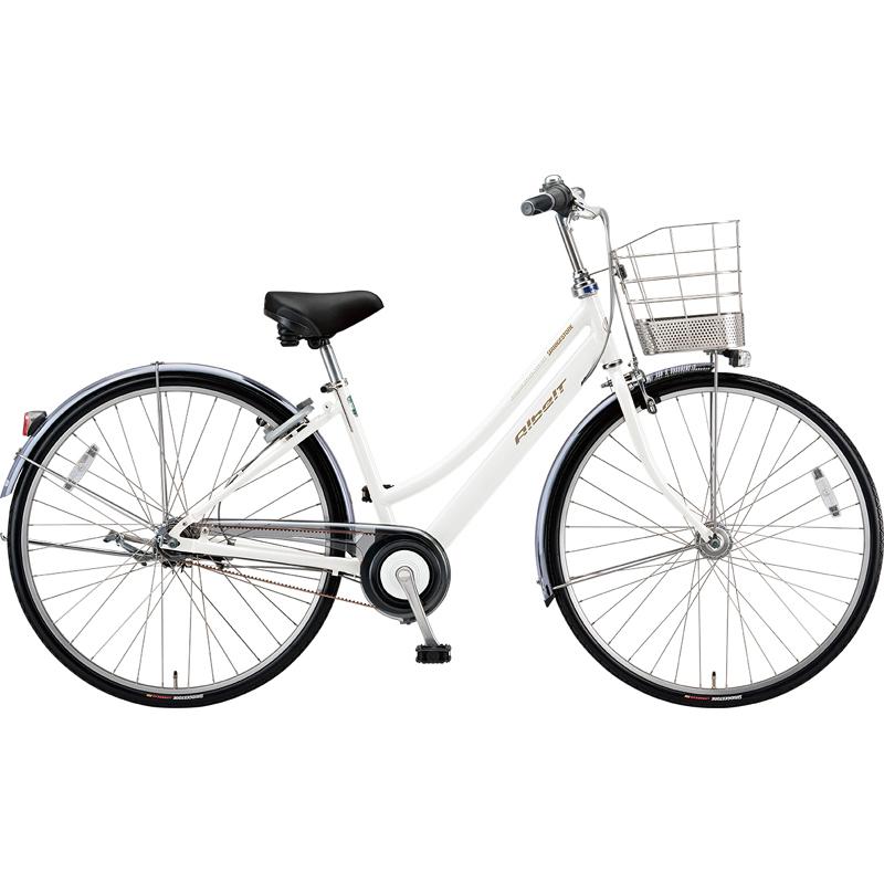 【防犯登録サービス中】ブリヂストン シティサイクル自転車 アルベルト A65LB P.シャンパンホワイト 【2019年モデル】【完全組立済自転車】