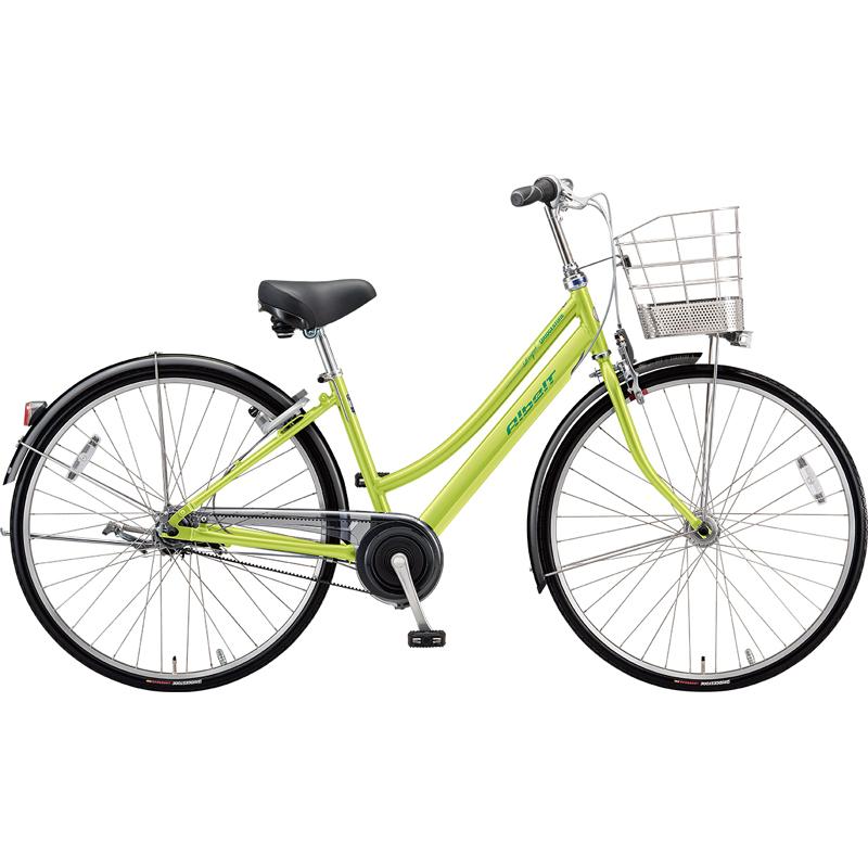 ブリヂストン シティサイクル自転車 アルベルトロイヤル A65LR T.ネオンライム 【2019年モデル】【完全組立済自転車】