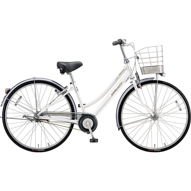 ブリヂストン シティサイクル自転車 アルベルトロイヤル A65LR P.シャンパンホワイト 【2019年モデル】【完全組立済自転車】