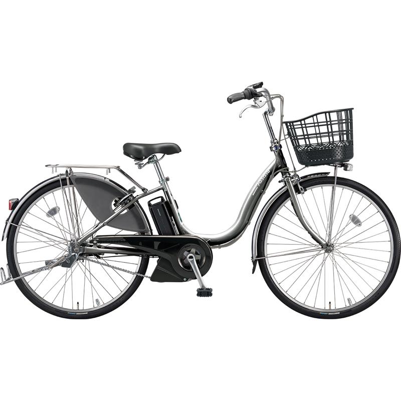 ブリヂストン 電動自転車 アシスタ デラックス A6DC39 M.XHスパークルシルバー 【2019年モデル】【完全組立済自転車】