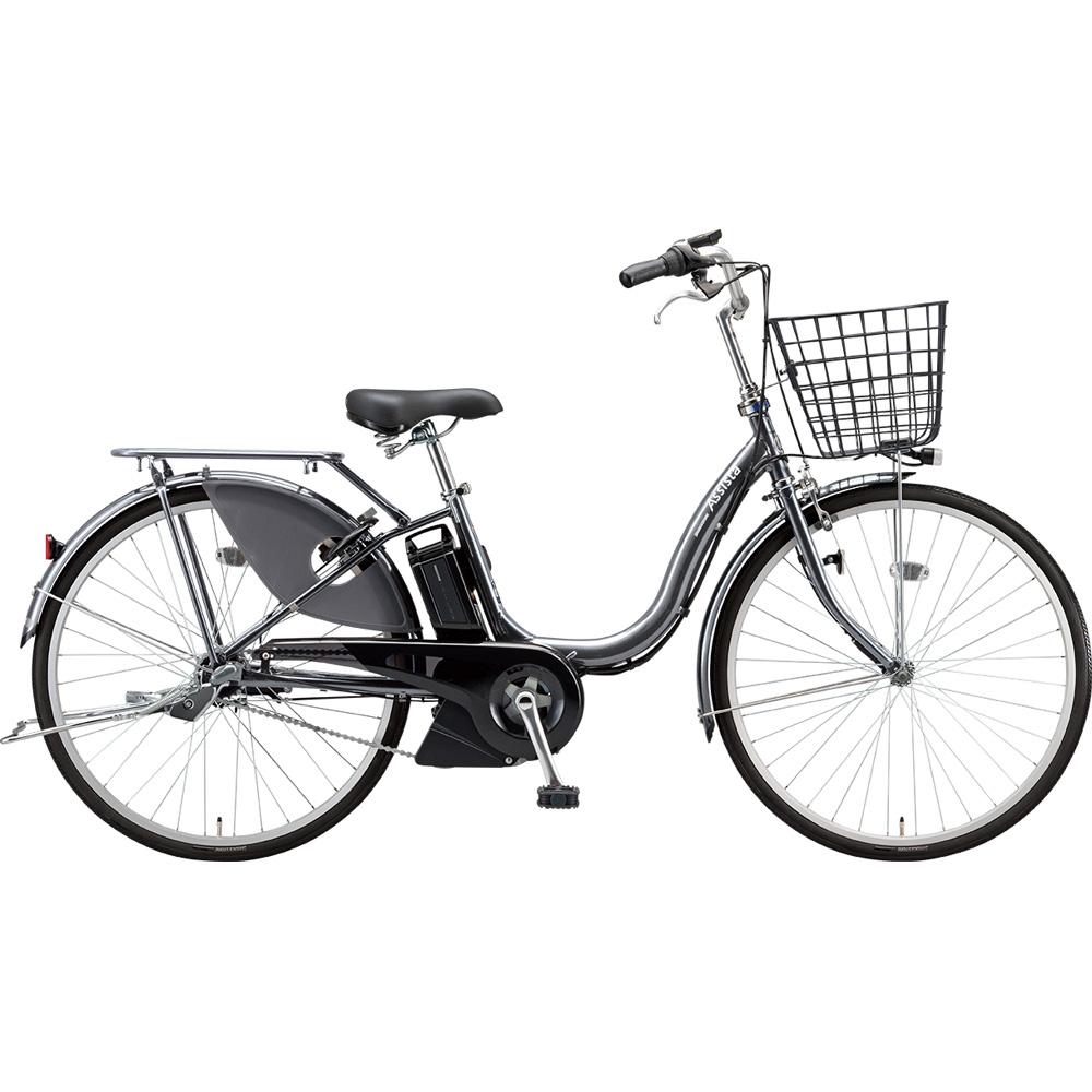 ブリヂストン 電動アシスト自転車 アシスタファインDX A6XC49 M.XHスパークルシルバー 【2019年モデル】【完全組立済自転車】