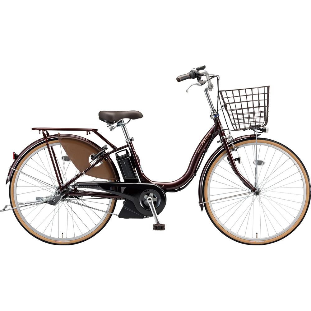 ブリヂストン 電動アシスト自転車 アシスタファインDX A6XC49 F.Xカラメルブラウン 【2019年モデル】【完全組立済自転車】