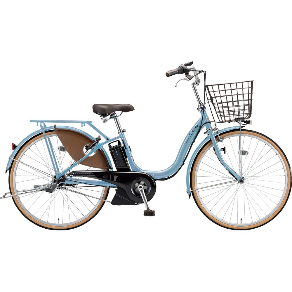 ブリヂストン 電動アシスト自転車 アシスタファインDX A6XC49 E.Xマリノブルー 【2019年モデル】【完全組立済自転車】