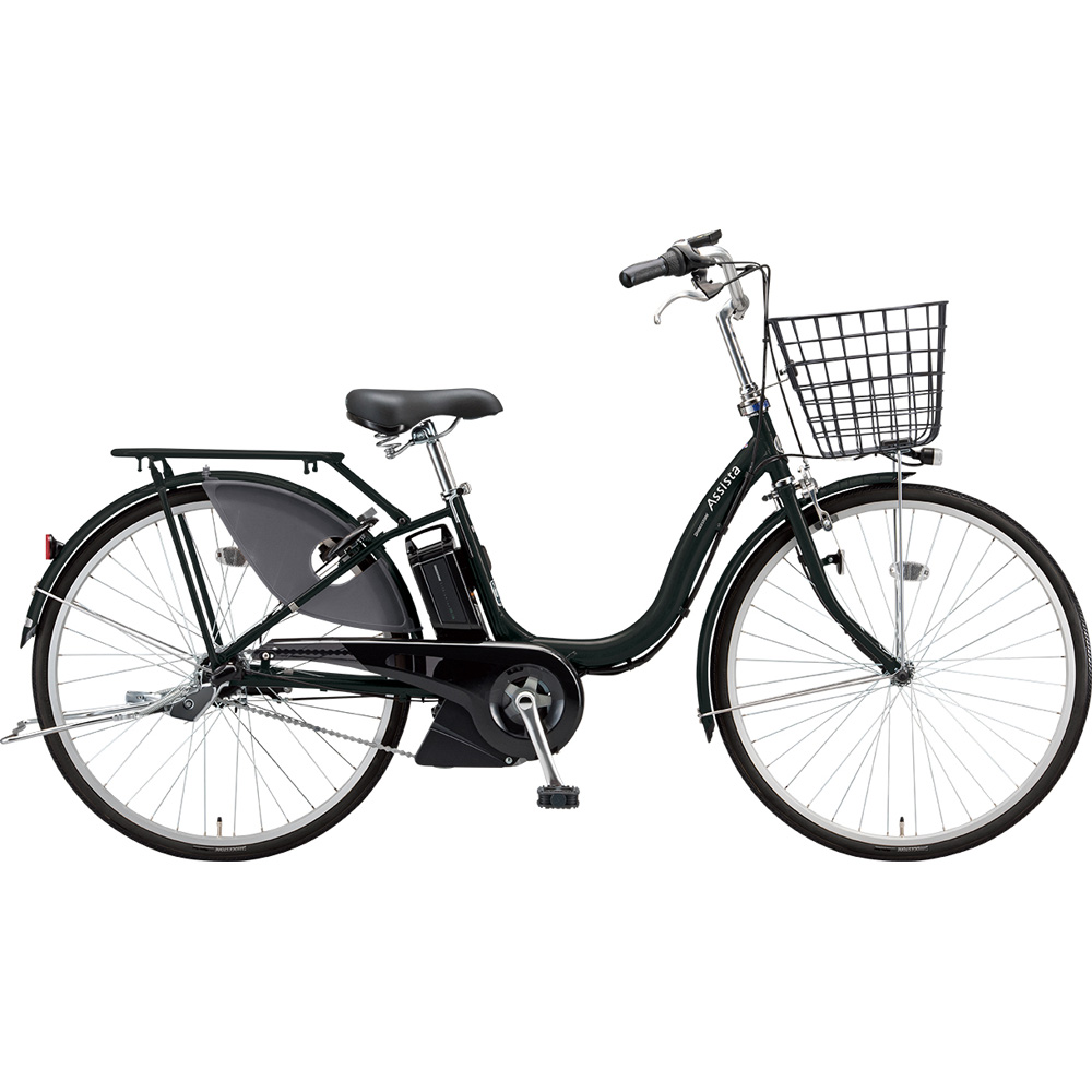 ブリヂストン 電動アシスト自転車 アシスタファインDX A6XC49 T.Xクロツヤケシ 【2019年モデル】【完全組立済自転車】