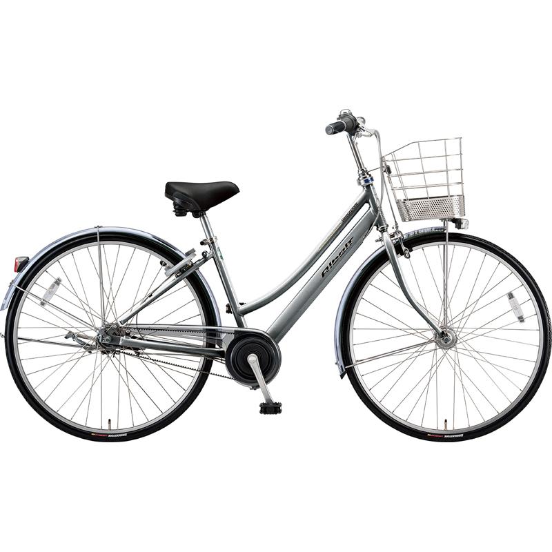 【防犯登録サービス中】ブリヂストン シティサイクル自転車 アルベルト A73LB M.スパークルシルバー 【2019年モデル】【完全組立済自転車】