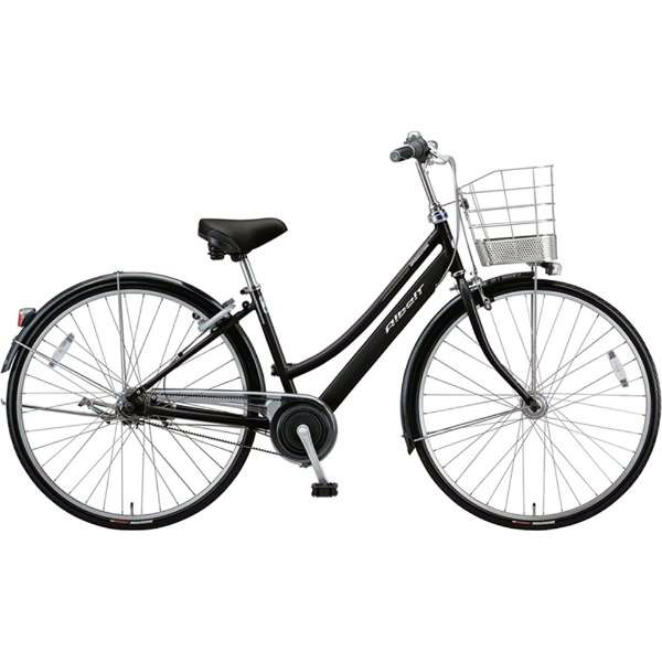 ブリヂストン シティサイクル自転車 アルベルト A75LB F.ピアノブラック 【2019年モデル】【完全組立済自転車】