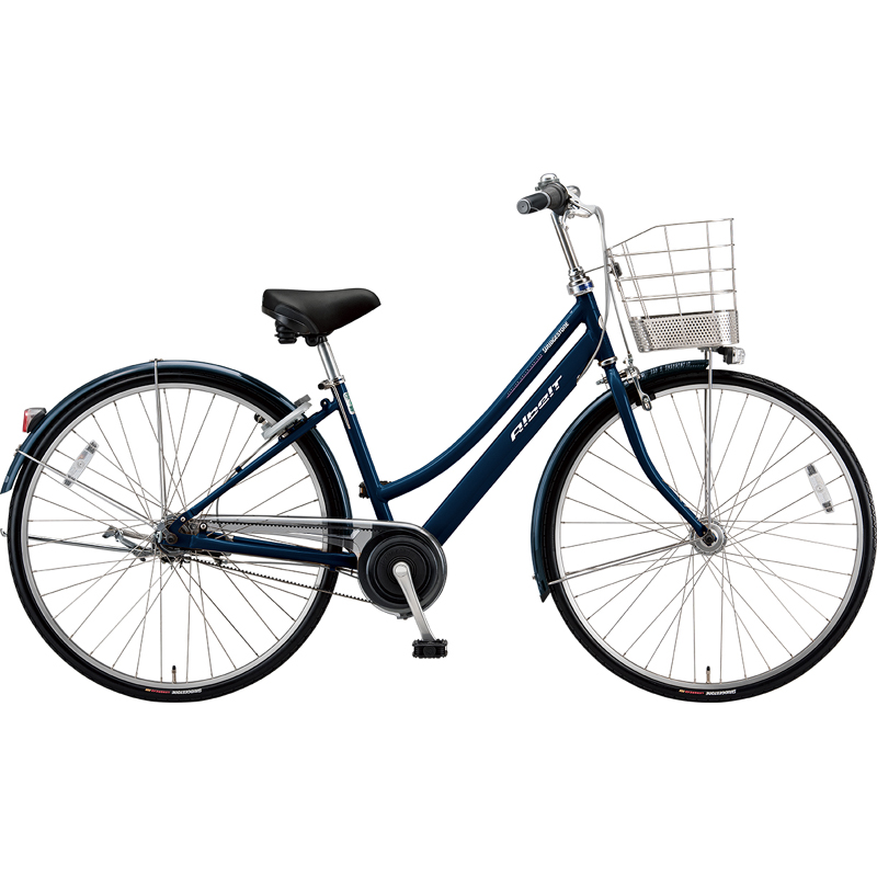 【防犯登録サービス中】ブリヂストン シティサイクル自転車 アルベルト A75LB M.ジュエルDブルー 【2019年モデル】【完全組立済自転車】