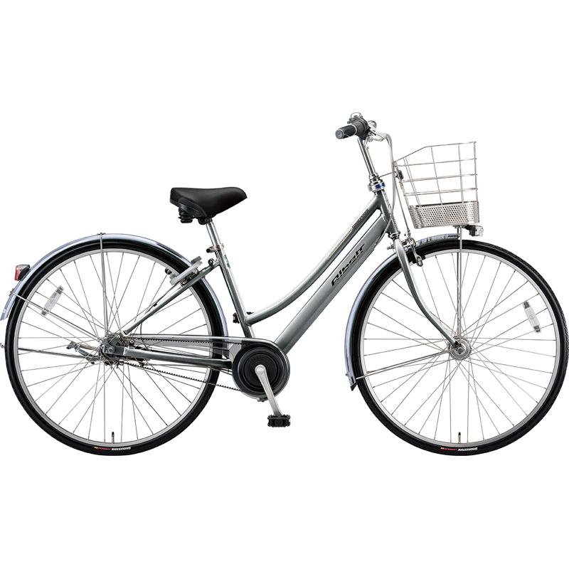 ブリヂストン シティサイクル自転車 アルベルト A75LB M.スパークルシルバー 【2019年モデル】【完全組立済自転車】