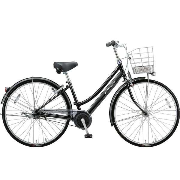 ブリヂストン シティサイクル自転車 アルベルトロイヤル A75LR F.ピアノブラック 【2019年モデル】【完全組立済自転車】