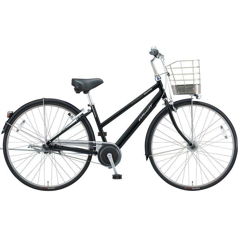 【防犯登録サービス中】ブリヂストン シティサイクル自転車 アルベルト A75SB F.ピアノブラック 【2019年モデル】【完全組立済自転車】