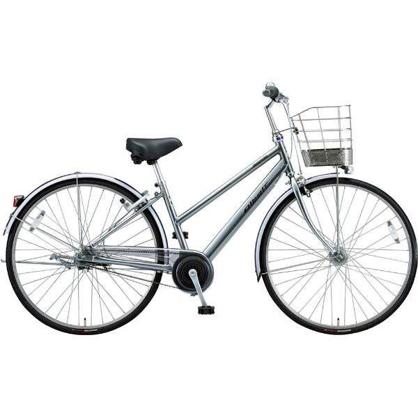 ブリヂストン シティサイクル自転車 アルベルト A75SB M.スパークルシルバー 【2019年モデル】【完全組立済自転車】