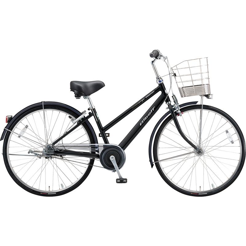 ブリヂストン シティサイクル自転車 アルベルトロイヤル A75SR F.ピアノブラック 【2019年モデル】【完全組立済自転車】
