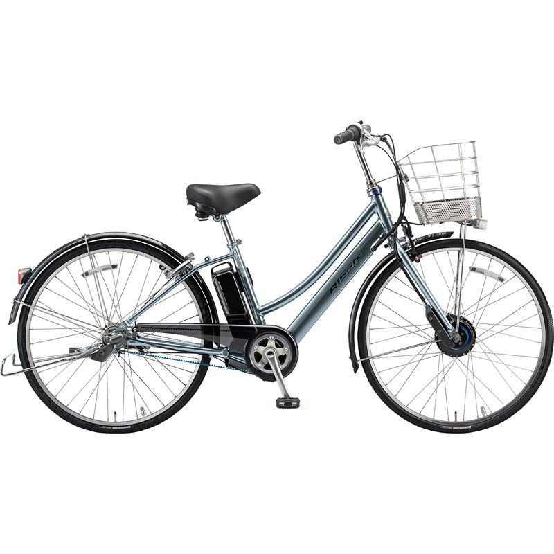 【防犯登録サービス中】ブリヂストン 電動自転車 アルベルトe AL6B49 M.XHスパークルシルバー 【2019年モデル】【完全組立済自転車】