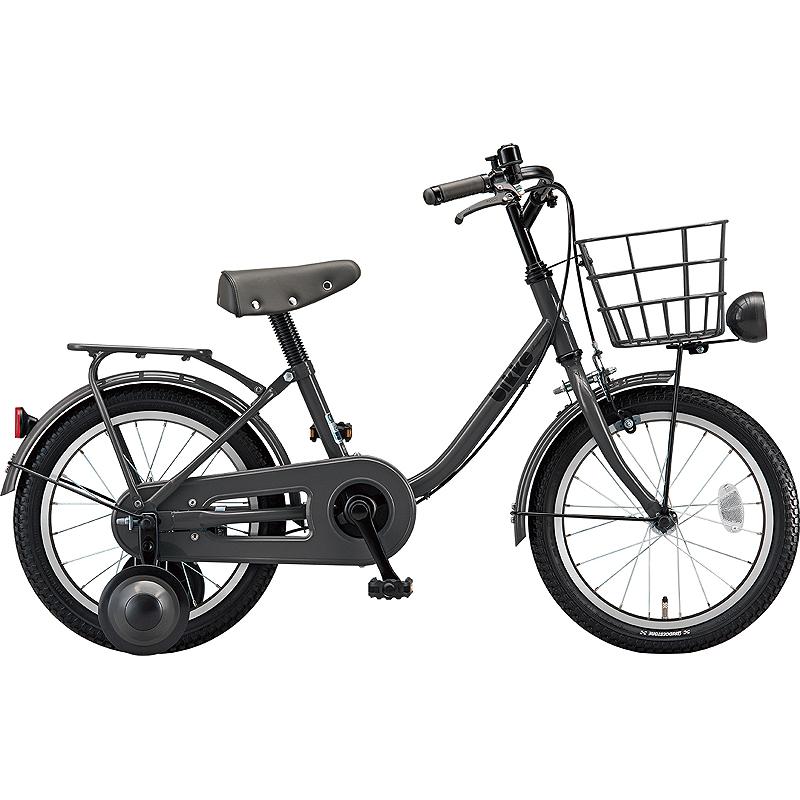 ブリヂストン 子供自転車 ビッケm BK16UM E.YBKダークグレー 【2019年モデル】【完全組立済自転車】